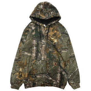 CARHARTT FULL ZIP PARKA REAL TREE CAMO
