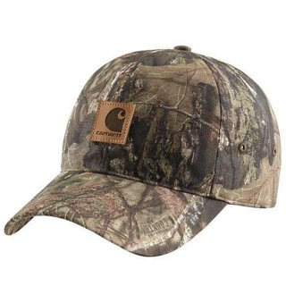 CARHARTT CAMO CAP MOSSY OAK BREAK UP COUNTRY