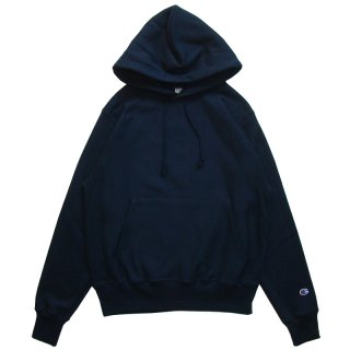 CHAMPION REVERSE WEAVE PULLOVER HOOD NAVY