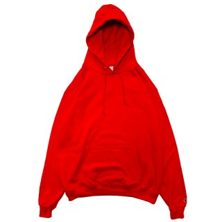 CHAMPION AUTHENTIC PULLOVER HOOD SCARLET