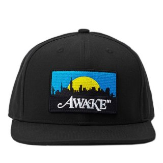 AWAKE NY SKYLINE PATCH HAT BLACK