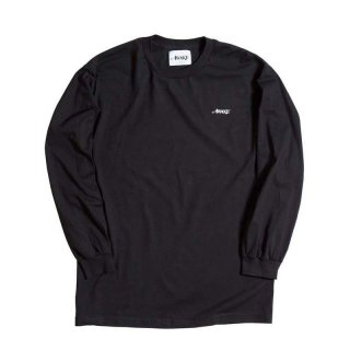 AWAKE NY LOGO LONG SLEEVE TEE BLACK