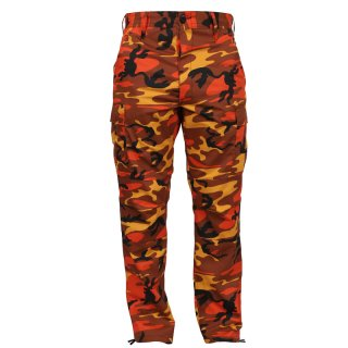 ROTHCO BDU PANTS SAVEGE ORANGE CAMO