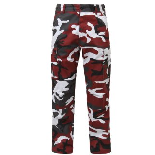 ROTHCO BDU PANTS RED CAMO