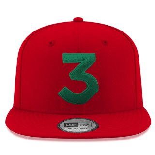 CHANCE 3 NEW ERA CAP RED GREEN