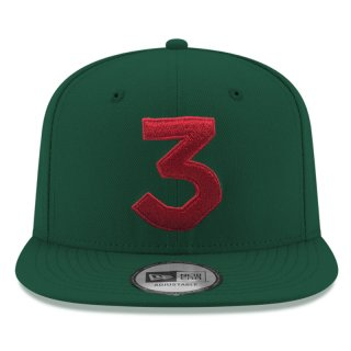 CHANCE 3 NEW ERA CAP GREEN RED