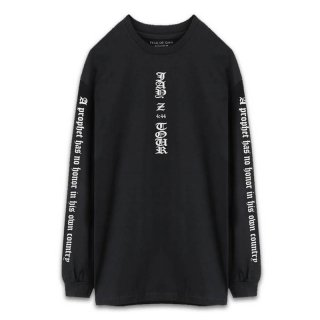 FEAR OF GOD JAY Z FORUM LONG SLEEVE T SHIRT BLACK