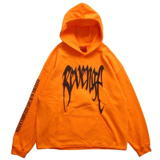 REVENGE + XXXTENTACION KILL HOODIE ORANGE