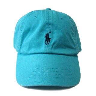 POLO RALPH LAUREN 6 PANEL CAP CAD BLUE