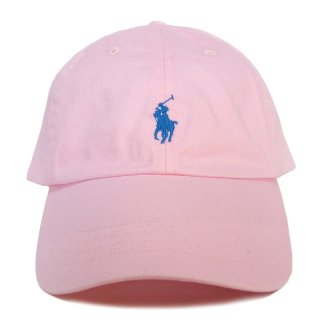 POLO RALPH LAUREN 6 PANEL CAP BABY PINK
