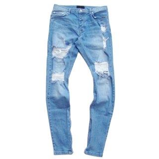 ADVANCE CRUSH ZIP DENIM INDG
