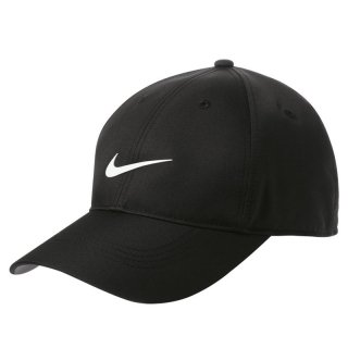 NIKE GOLF DRI FIT SWOOSH FRONT CAP BLACK