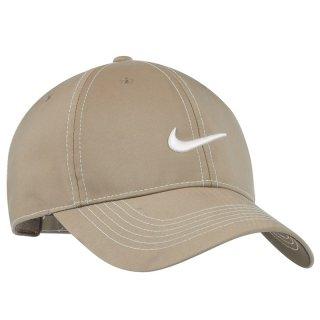 NIKE GOLF SWOOSH FRONT CAP BEIGE
