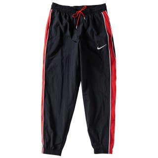 NIKE THROWBACK TRACK PANTS BLACK RED