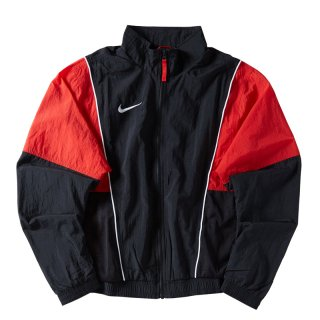 NIKE THROWBACK TRACK JACKET BLACK RED