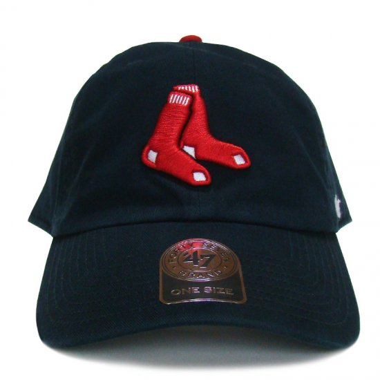 /'47 brand Boston Red Sox Clean Up Cap navy