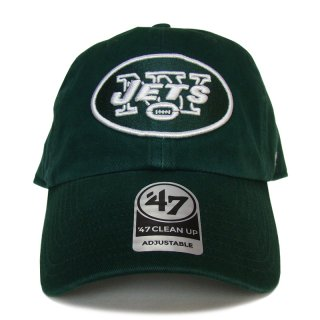 "'47 BRAND ""NEW YORK JETS"" CLEAN UP TWILL CAP GREEN"