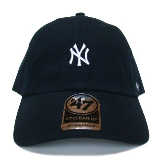 "'47 BRAND ""NEW YORK YANKEES"" CENTERFIELD CLEAN UP TWILL CAP NAVY"