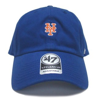 "'47 BRAND ""NEW YORK METS"" CENTERFIELD CLEAN UP TWILL CAP BLUE"