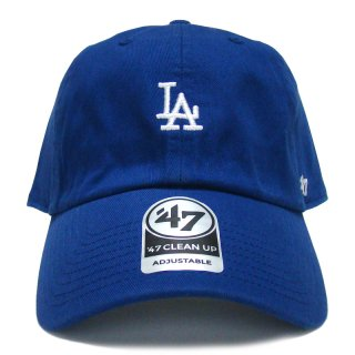 "'47 BRAND ""LOS ANGELS DODGERS"" CENTERFIELD CLEAN UP TWILL CAP BLUE"