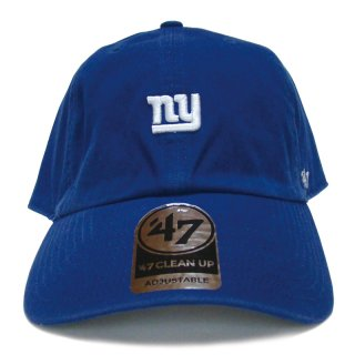 "'47 BRAND ""NEW YORK GIANTS"" CENTERFIELD CLEAN UP TWILL CAP BLUE"