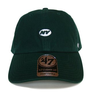 "'47 BRAND ""NEW YORK JETS"" CENTERFIELD CLEAN UP TWILL CAP GREEN"