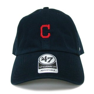 "'47 BRAND ""CLEVELAND INDIANS"" CENTERFIELD CLEAN UP TWILL CAP NAVY"
