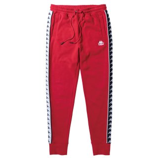 KAPPA DANDA SLIM TRACK SWEATPANTS RED