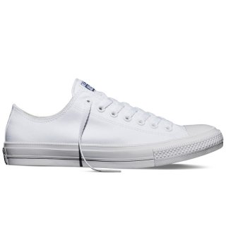 CONVERSE CHUCK TAYLOR ALL STAR II LOW TOP WHITE