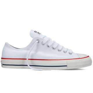 CONVERSE CONS CATS PRO OX WHITE RED NAVY