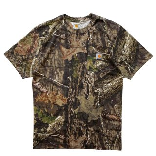 CARHARTT POCKET TEE REAL TREE CAMO