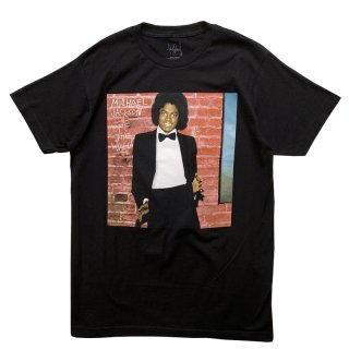 MICHAEL JACKSON OFFICIAL LICENSE TEE BLACK
