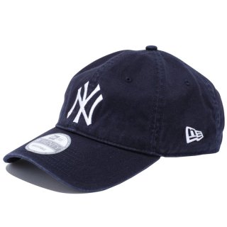 NEW ERA 9TWENTY CLOTH STRAP WASHED COTTON YANKEES NAVY