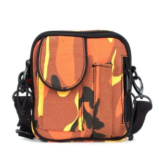 ROTHCO CAMO CANVAS EXCURSION ORGANIZER SHOULDER BAG SAVAGE ORANGE
