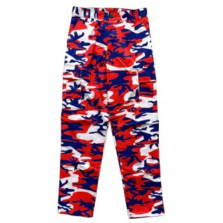 ROTHCO BDU PANTS RED BLUE CAMO