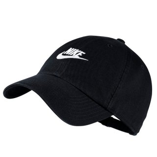 NIKE HERITAGE86 FUTURA WASHED CAP BLACK