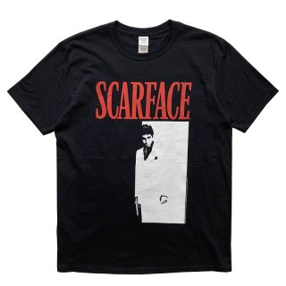 SCARFACE OFFICIAL LICENSE TEE BLACK