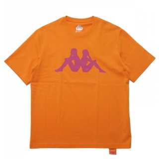 KAPPA LOGO TEE ORANGE