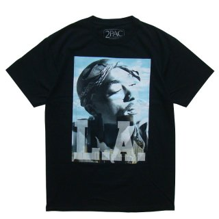 2PAC OFFICIAL LICENSE PHOTO TEE BLACK