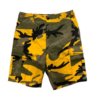 ROTHCO BDU SHORTS YELLOW CAMO