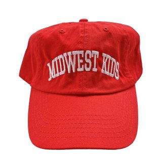 MIDWEST KIDS MDK DAD HAT RED