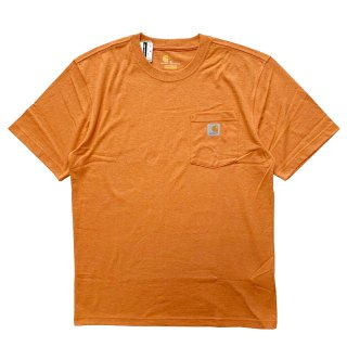 CARHARTT POCKET TEE APRICOT ORANGE HEATHER