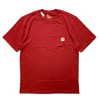 CARHARTT POCKET TEE PORT HEATHER