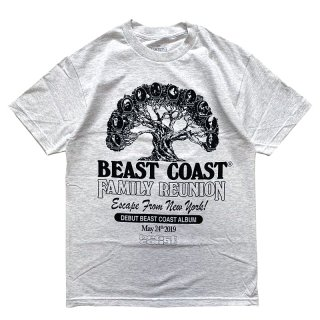 BEAST COAST FAMILY REUNION TEE ASH GREY