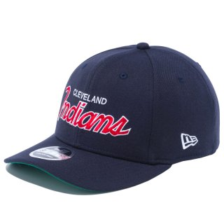 9FIFTY STRETCH SNAP SCRIPT LOGO CLEVELAND INDIANS