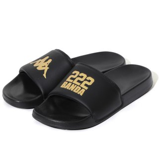 KAPPA BANDA SLIDE BLACK GOLD
