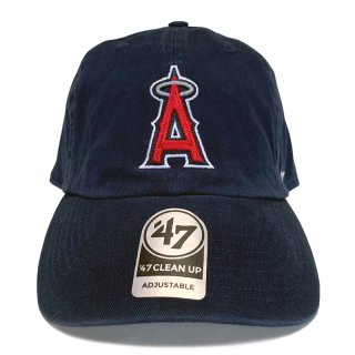 "'47 BRAND ""LOS ANGELES ANGELS"" CLEAN UP TWILL CAP NAVY"
