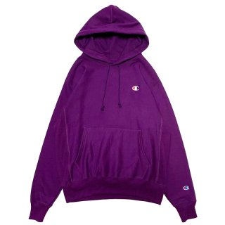 CHAMPION REVERSE WEAVE PULLOVER HOODY PURPLE