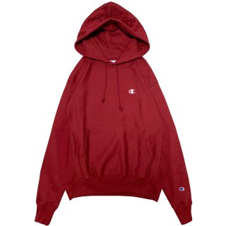 CHAMPION REVERSE WEAVE PULLOVER HOODY BURGUNDY