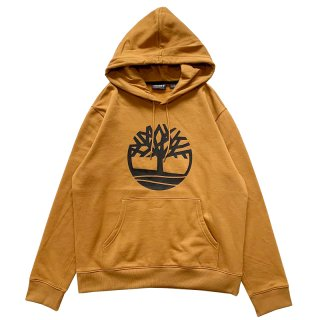 TIMBERLAND LOGO PULLOVER PARKA WEAT